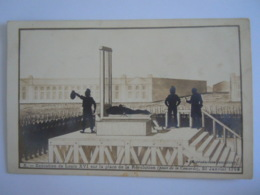 La Révolution Française Illustrateur Coulon X Exécution De Louis XVI Sur La Place De La  ... 1793 Guilleminet Précurseur - Geschichte