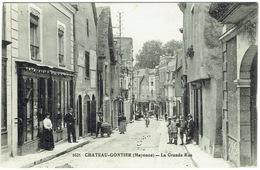 CPA - 53 - CHATEAU GONTIER - Bureau De Tabac ( Carotte ) - Buraliste - Cartes Postales - Chateau Gontier
