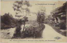 25  Route De Pontarlier  A Morteau  A Entre-roches Pres Montbenoit - Autres Communes