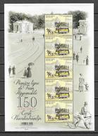 """België 2019 Velletje  """" 150Jaar Eerste Paardentramlijn """"  (**) - Unused Stamps"""