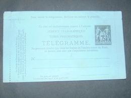 Télégramme Type Sage à 75 Centimes N°. Storch O1 - Standard- Und TSC-AK (vor 1995)