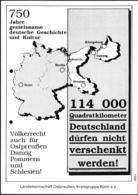 Mint Postcard From 1991 Regarding Lost Areas In Poland - Völkerrecht Auch Für Ostpreussen, Danzig, Pommern Und - [7] République Fédérale