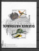 """België 2019 Velletje  """"  NATIONALE VOGELS """"  (**) - Unused Stamps"""