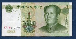 Chine - Billets - 1 Yuan - 1999 - Chine