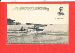 CAUDRON Cpa Animée Hydroaéroplane Hydravion      Edit J H - Aviateurs