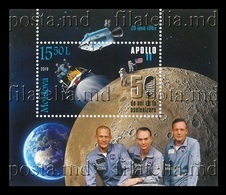 Moldova 2019 Mih. 1112 (Bl.83) Space. Apollo 11. Moon Landing MNH ** - Moldavia