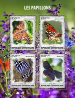 Central Africa  2019 Fauna Butterflies   S201912 - República Centroafricana