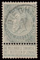 """COB N° 63 - Obl. """"DIEGHEM"""" - 1893-1900 Fine Barbe"""