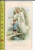 X 180 - IMAGE RELIGIEUSE - L ANGE GARDIEN - Santini