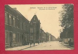C.P. Jodoigne = Chaussée  De  Charleroi  :  Quartier  De La CROIX ROUGE - Jodoigne