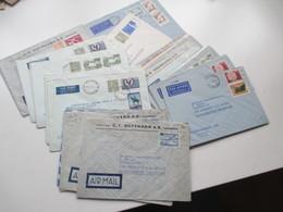 Finnland 1958 - 74 Luftpost Briefe 42 Stk. Firmen Korrespondenz Auch Freimarke Nr. 505 Flugzeug Mit Aufdruck Usw. - Covers & Documents