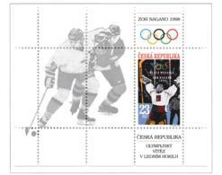 Ceska Republika 1998 Nagano Olympic Games Souvenir Sheet MNH/** (H40) - Inverno1998: Nagano