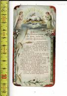 X 184 - IMAGE RELIGIEUSE -  LA DERNIERE  COMMUNION - Santini