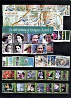 BAHAMAS-2006 Year Set .8 Issues(40st.+2 M/s.)MNH - Bahamas (1973-...)