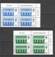 S546 1984 GUERNSEY BRIDGES 25TH ANNIVERSARY EUROPA CEPT !!! 4SET MNH - Europa-CEPT