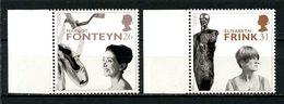 Gd Bretagne 1996 N° 1908/1909 ** Neufs  MNH Superbes C 3 € Femmes Célèbres Europa Fonteyn Danseuse Frink Sculpture - Nuovi