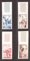 ESSAIS Couleurs, Série SPORTS 1956, Rugby, Basket Etc ... - Essais