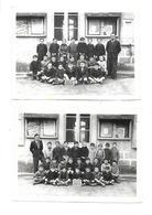 Lot De 2 Photographies Ecole Classe De 1946 SAINT BARTHELEMY DE VALS Drome 26 - Photos