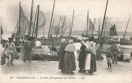 29 Douarnenez Le Port Debarquement Des Sardines - Douarnenez