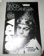 Simon Bocanegra - L'avant Scène Opéra N° 19 - Musik