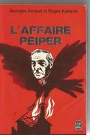 Livre Document WW 2 , XX Elite . : L'affaire PEIPER . - Books