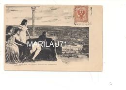 P609 NAPOLEONE FRANCE MALINCONIA 1900 VIAGGIATA - Personaggi Storici