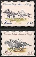 D - [811001]TB//**/Mnh-Italie 1984 - N° 1621/22, Derby Italien De Galop, SC, Chevaux, Hippisme - Horses