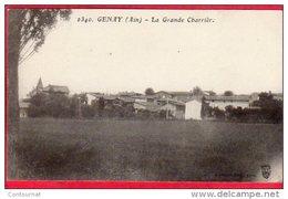 CPA 69 GENAY La Grande Charrière   Dans Canton De NEUVILLE  SUR SAONE ( Avant Dans L' AIN ) Attelage Boeufs - Altri Comuni