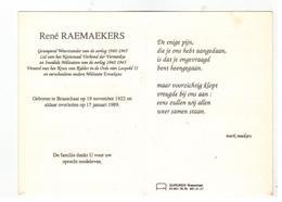 DP René RAEMAEKERS Geboren Brasschaat 1922,gestorven 1989 - Religion & Esotérisme