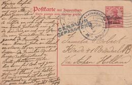 ENTIER POSTAL / POSTKARTEN - P13 - Antwerpen 9/06/1917 Avec Censure - [OC1/25] General Gov.