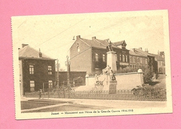 C.P. Jumet = Monument 1914-1918 - Charleroi