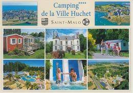 SAINT-MALO (35) - QUELMER - Domaine Camping De La Ville Huchet - Saint Malo