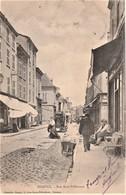 Rare Cpa Roanne Rue Sous-préfecture Belle Animation Avec Alambic Mobil  Dans La Rue - Roanne