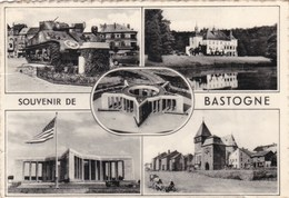 BASTOGNE - LUXEMBOURG - BELGIQUE - CPSM MULTIVUES DENTELEE. - Bastogne