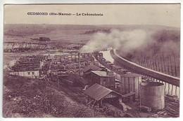 52 Gudmont - La Créosoterie - Ed: Renaud - Autres Communes