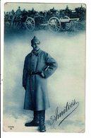CPA Carte Postale- FRANCE-Amitié D'un Soldat  VM12662 - Personen