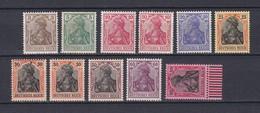 Deutsches Reich - 1915/19 - Michel Nr. 84/89+91/93 II - Ungebr./Postfrisch - 40 Euro - Deutschland