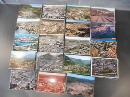 LOT  DE 400  CARTES  POSTALES   DE  VUES  AERIENNES   DE  FRANCE - Cartes Postales