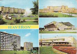 Czech Republic, Havírov, Hotel Merkur, Eisbahn - Zimny štadion, Nemocnica Krankenhaus,okres Karvina, Gebraucht, Použitá - Repubblica Ceca