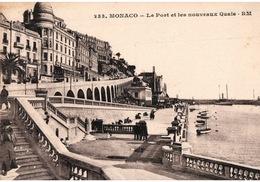 Monaco - Le Port Et Les Nouveaux Quais - Edition Rostan Et Munier - Carte R.M. N° 233 Non Circulée - Hafen