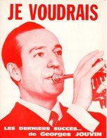 TROMPETTE - PARTITION JE VOUDRAIS DE ET PAR GEORGES JOUVIN - 1969 - EXC ETAT COMME NEUF - - Musique & Instruments