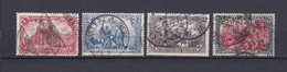 Deutsches Reich - 1905/12 - Michel Nr. 94/97 A I - Gest. - 70 Euro - Oblitérés