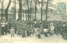 (22) Guingamp : Musique Du 48ème Sur La Place De Vally (animée) - Guingamp