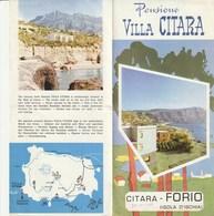 PENSIONE VILLA CITARA - FLORIO - Dépliants Turistici