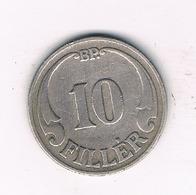 10 FILLER 1926  HONGARIJE/1052/ - Hongrie