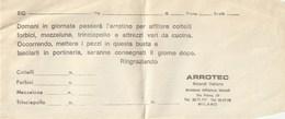 ARROTEC - Boiardi Valtaro - MILANO - - Werbung