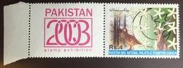 Pakistan 2003 Stamp Exhibition Birds Animals MNH - Pakistan