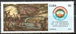 CUBA, Préhistoire. Speléologie, Grotte, Rupestre N° Yvert N°3007 - Neuf Sans Charniere (MNH)** - Préhistoire