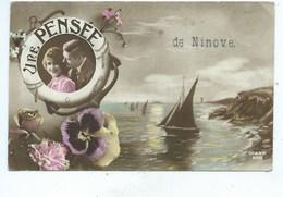 Ninove Une Pensée ( Cachet Ninove ) - Ninove