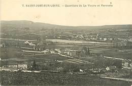 42 SAINT JUST SUR LOIRE - QUARTIERS DE LA VAURE ET VERRERIE - Saint Just Saint Rambert